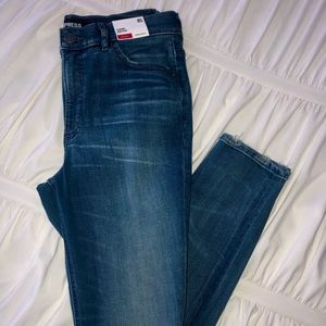 EXPRESS High Rise Denim Perfect Jeggings